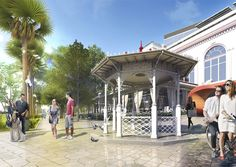 ЦУМ , СОЧИ  AM.PROEKTUS + Lap Landscape & Urban Design Urban Design, Mansions, Star, Landscape, House Styles, Outdoor Decor, Home Decor, Scenery, Decoration Home