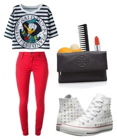 """Disney duck !¡ donald duck"" by kamaria-diani ❤ liked on Polyvore"