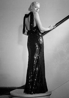 Chanel 1935...glitz in the 30's was courageous...& this is beautiful! - from Tailor and Stylist