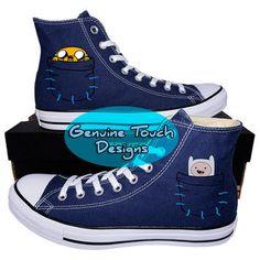 41d1951e84fb Genuine Touch Designs on Wanelo. Custom ConverseChuck Taylor SneakersAdventure  ...