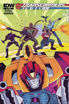 IDW Cover of the Day: Transformers Vs G.I. JOE #5