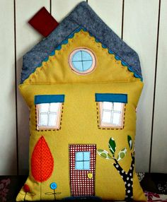 House Pillow from Oct. 11' by maureencracknell, via Flickr