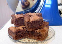 Amazing chocolate cheesecake brownies from baker blog American Chop Suey