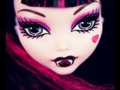 Seriously, a tutorial on makeup just like the doll!  LOVE IT! For Kayla!