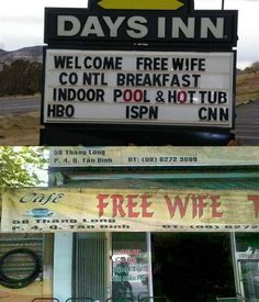 """What Would You Say If You Could Get A Croissant And A """"Free Wife"""" For The Same Price? #mistranslation"""