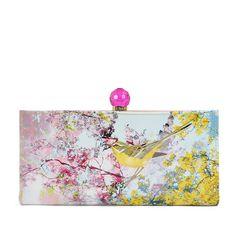 6049096ca30943 Brandan Pretty Trees Print Matinee Purse In Pink