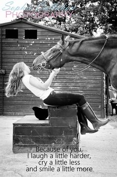 Horses have saved me in ways some people will never be able to understand