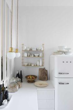 Rustic Kitchen Design, Country Kitchen, Functional Kitchen, Interior Design Tips, Beautiful Kitchens, Minimalist Home, Modern Rustic, Decoration, Ladder Decor