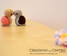Snails in love amigurumi pattern