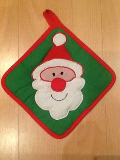 Vardenis Sewing's Santa potholder