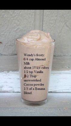 Alternative to Wendy's Frosty