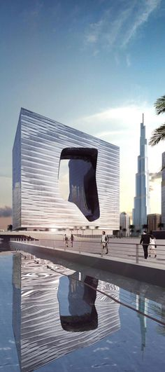 Opus Tower, Dubai, UAE by Zaha Hadid Architects