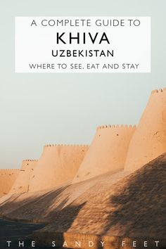 A Short Guide To Khiva: Our Favorite Town On Uzbekistan's Silk Road Travel Guides, Travel Tips, Travel Destinations, Travel Hacks, Travel Packing, Silk Road, Bhutan, Beautiful Places To Visit, Amazing Places