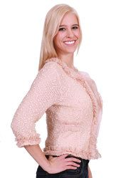 "The Petite Shop - A'reve Creamy Cardi, $52.00. Available in #petitefriendly sizes S, M, and L. Model is 5' 3""! Petite Tops, 5 S, Pullover, Model, Sweaters, Shopping, Fashion, Mathematical Model, Moda"