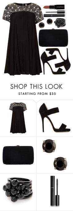 """""""Untitled #3490"""" by natalyasidunova ❤ liked on Polyvore featuring Mode, Topshop, Jimmy Choo, Sergio Rossi, Folli Follie, Chanel und Smashbox"""