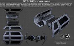 SFS TIE/Sa Bomber ortho [Updated] by unusualsuspex.deviantart.com on @DeviantArt