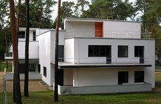 Meisterhäuser – Georg Muche I Architekt: Walter Gropius I Baujahr: 1925-1926 I Adresse: Ebertallee 65, Dessau-Roßlau