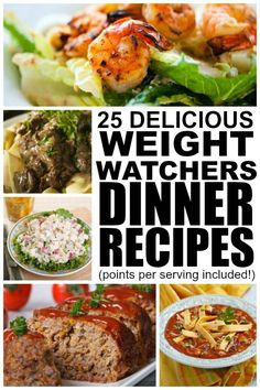 If you're looking for weight watchers dinner recipes with points that are delicious and easy to make, this collection is just what you need!.