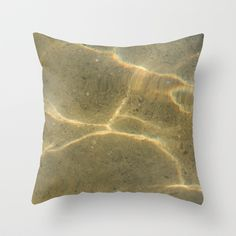 """Throw Pillow / Indoor Cover (16"""" X 16"""") • 'Smørblomst' • IN STOCK • $20.00 • Go to the store by clicking the item."""