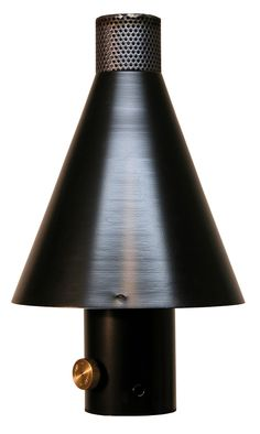 Black Cone Tiki Torches In Stock Ready For Delivery, Manual or Remote, Manufacturer Direct, Best Price, Call Today Outdoor Tiki Bar, Outdoor Torches, Tiki Torches, Outdoor Fire, Urban Design, Backyard Ideas, Rooftop, Remote, Sconces