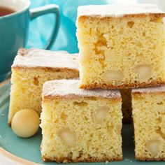 Here at The Chefs Toolbox, our quality cookware, knives and bakeware are just part of our story. Our vision is to inspire cooking in every home. Blondie Cake, Blondie Dessert, Spanish Food, Spanish Recipes, Chocolate Lovers, Blondies, Tool Box, Vanilla Cake, Food Inspiration