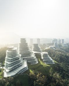 landscape architecture - Gallery of MAD's Huangshan Mountain Village Through The Lens Of Fernando Guerra 29 Vintage Architecture, Unique Architecture, Futuristic Architecture, Facade Architecture, Concept Architecture, Residential Architecture, China Architecture, Cultural Architecture, Architecture Visualization