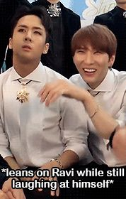 "official-wonshik: ""official-jungtaekwoon: "" ravsik: ""Cute wontaek watching their Closer performance "" @official-wonshik ""  @official-jungtaekwoon """