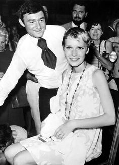 The 1st pixie ;) • Mia Farrow with Vidal Sassoon