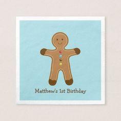 Gingerbread Napkins