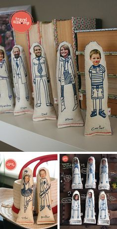 Family fabric dolls