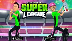 Stick Cricket Super League is an evolution of the original mobile Stick Cricket game. Cricket Games, Bowling, Evolution, In This Moment, Android, Style, Swag