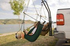 Tailgate hammock chairs