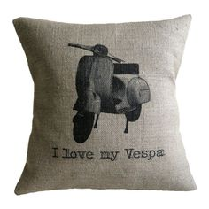 I Love My Vespa