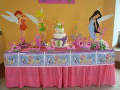 mesa de fiesta infantil | Mesa+Decoracio%CC%81n+de+fiestas+infantiles+de+campanita6.jpg