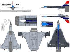 4D model template of General Dynamics F-16XL (1). #4dpa, #GeneralDynamicsF6XL, #F16XL Paper Airplane Models, Model Airplanes, Paper Models, Paper Planes, Fighter Pilot, Fighter Jets, Paper Aircraft, Cnc, Airplane Design