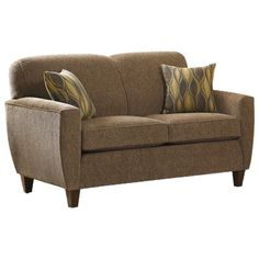 I pinned this Charles Schneider Aldrich Loveseat from the Neutral Territory event at Joss and Main!