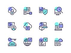 Blockchain Icons designed by Dmitri Litvinov. Connect with them on Dribbble; the global community for designers and creative professionals. Flat Design Icons, App Icon Design, Graphic Design Services, Design Design, Design Layouts, Book Design Graphique, Design Thinking, Website Icons, Website Layout