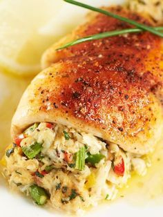 Crab & Asparagus-Stuffed Tilapia this Wednesday. W... - Blogs & Forums
