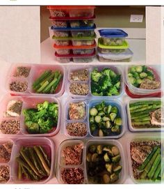 I need to get on meal prep & planning. June 1st is only a little more than 13 weeks away!