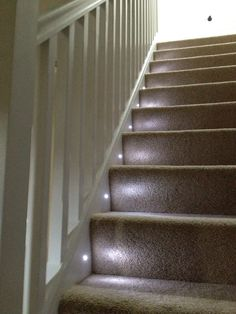stair lighting attic lighting ideas