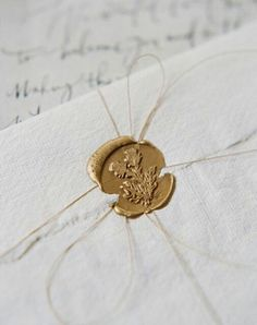 Wax Seal (Invitations: Written Word Calligraphy) - Elegant Cliff Top Ceremony in Scotland by Laura Gordon Photography Wedding Stationery, Wedding Invitations, Invites, Objets Antiques, Laura Gordon, Gold Aesthetic, Fae Aesthetic, Princess Aesthetic, Cinderella Aesthetic