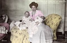 A Pictographic Remembrance of Queen Victoria Eugenia Julia Ena of Battenberg of Spain.