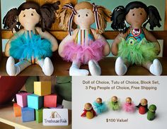Only 2 hours left to enter this fabulous Giveaway for a price package of 100 DOLLARS sponsored by Dressy Dolls Co.
