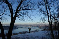 Ekebergåsen Oslo, Celestial, Sunset, Winter, Outdoor, Sunsets, Outdoors, Outdoor Games, Outdoor Living