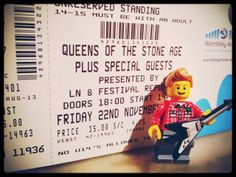 Cutie and the Feast: Queens of the Stone Age London Trip with added Lego!