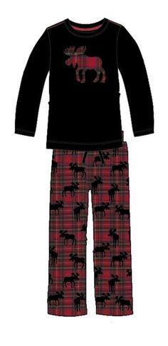 Pijama Little Blue House mod. Moose on Plaid