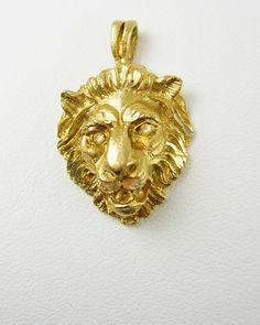 Vintage hinged lion head clamper bracelet by neatstuffantiques lions head pendant victorian rhinestone eyes by neatstuffantiques 5500 aloadofball Choice Image