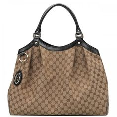 d7db0d224fca Gucci Sukey Large Tote Beige-Black 211943 Sale Designer Handbags On Sale,  Replica Handbags