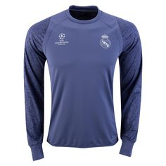 adidas Real Madrid Long Sleeve Europe Training Top 16 17 10bed1b0a