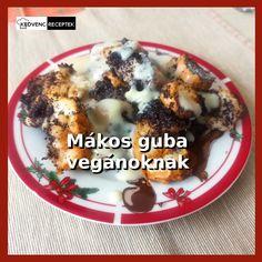 Megmutatom hogyan kell a vegán mákos guba receptet elkészíteni. Finom vaníliás öntetett is készítünk hozzá, mert anélkül fele annyit sem ér ez a finom vegán édesség. Nézd meg a receptet! #vegán #mákosguba #recept Guam, Oatmeal, Breakfast, Food, The Oatmeal, Morning Coffee, Rolled Oats, Essen, Meals